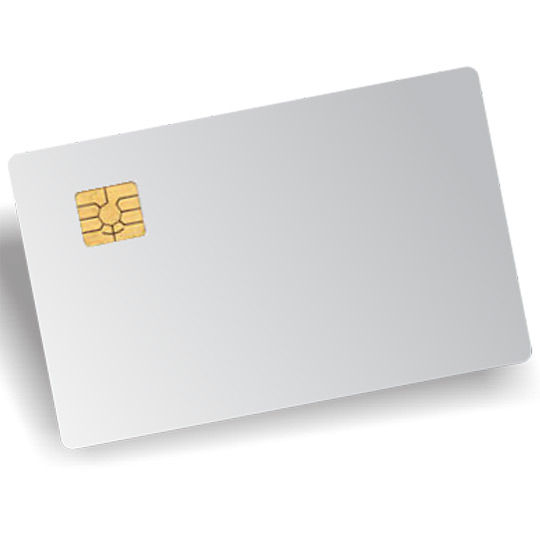 Chip Contact PVC Smart Card For Epson Printers - Bharti iDJet