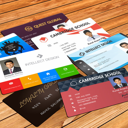 Customized PVC ID Card Printing Service